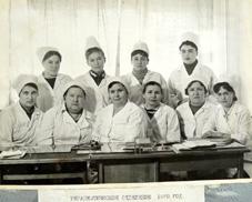Коллектив терапевтического отделения. 1970 г.
